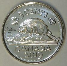 2019 Canada 5 Cents BU