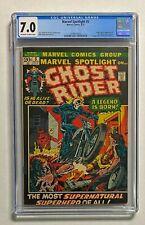 MARVEL SPOTLIGHT #5 Marvel 1972 CGC 7.0 GHOST RIDER Origin & 1st Appearance