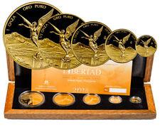 2018 Mexico Gold Libertad- 5-Coin Gem Proof Set Original Mint Box W/COA SKU55102