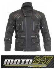RST PARAGON 5 TEXTILE MOTORCYCLE JACKET WATERPROOF- BLACK 44 UK / 54 EU
