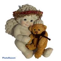 "💕 Vintage Dreamiscles ""Snuggle Buddies"" Angels DC017 Figure Statue 5"" EUC R0"