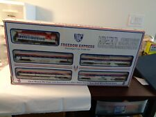 IHC  HO SCALE FREEDOM EXPRESS PASSENGER CAR TRAIN SET 1776-1976 READY-TO-RUN SET
