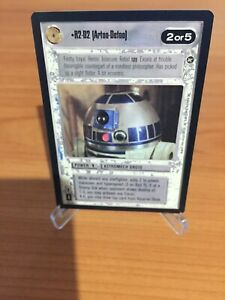 Star Wars CCG R2-D2 A New Hope Used