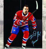 Tomas Plekanec Montreal Canadiens Autographed 8x10
