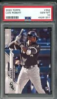 2020 Topps Luis Robert Rookie RC #392 PSA 10 Mint Chicago White Sox