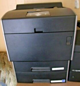 Dell 5110CN Color Laser Printers with Toner and power cord & 2 paper trays