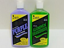 CALIFORNIA CUSTOM PURPLE METAL POLISH & DEOXIDIZER  BOAT MOTORCYCLE ALUMINUM CHR