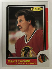 Denis Savard 1986-87 O-Pee-Chee Hockey Card #7 - Chicago Blackhawks