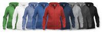 Clique- Ladies Hoodie- Zip Up Hooded Top- Plain Colour- 8 Colour Choices XS-XL