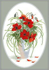 Cross Stitch Kit Coquelicots R280