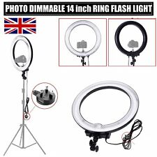 "75W 18"" 600W 5500K Dimmable Ring Light Camera Fluorescent Flash Light Photograph"