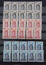 1956 Luxemburg; 10 mal kpl. Serie Europa (Cept) postfrisch/MNH, ME 2000,-