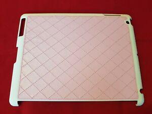 Slim Case Hardcase - KRUSELL - Apple Ipad 2 3 4 - Weiß / Rosa - NEU (TAS 8)