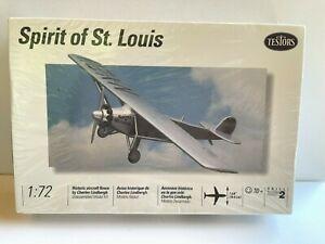 Vintage Spirit of St Louis 1:72 Model Kit by Testors Airplane Kit #664 NIP NOS