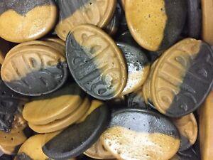 Bubs Caramel Salt Liquorice Ovals Sweet - Scandinavian Candy & Sweets