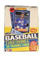 1986 Fleer Baseball Cello Box - 24 Packs Nice ,Clean. Beautiful Condition