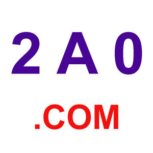 2A0.com  - 3 Character / 3 Letter Domain Name for sale (NLN)