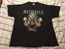Vintage Metallica Pushead Tour Concert Shirt Men's Size 2XL #43