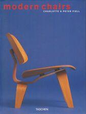 MODERN CHAIRS CHARLOTTE PETER FIELL TASCHEN 2002
