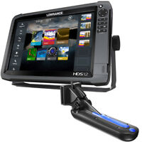 Lowrance HDS12 GEN3 Totalscan Bundle Lowrance 000-13267-001  Free Overnight Ship
