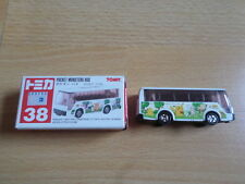 Tomy Tomica No. 38 Pokemon Pikachu Pocket Monsters Bus in Originalverpackung!