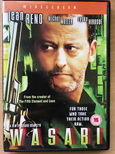 Wasabi 2001 Luc Besson French Cop in Japan Action Film Movie w/ Jean Reno