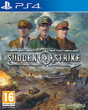 Sudden Strike 4 PS4 Playstation 4 IT IMPORT KALYPSO