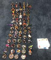 LOT of 74 Bulk Marvel Hero Wizkids Neca Heroclix Miniatures Game Figures Comics