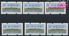 BRD ATM2.2.3, Satz komplett postfrisch 1993 Automatenmarke (8867480