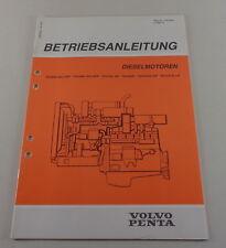 Mode D 'em Ploi Volvo Penta Moteur Diesel TD100 G Gg Gpp TID100K Etc de 2/1986