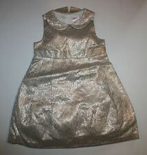 New Gymboree Gold Brocade Dress 3T  Holiday Shine Christmas Lined Tulle Girls