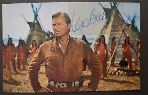 Lex Barker original signierte Autogrammkarte,autograph, Winnetou,verstorben