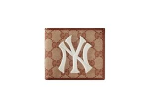 GUCCI Original Coin Wallet With New York Yankees Patch