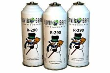3 CANS Enviro-Safe R-290 R290 NEW Stand Alone Fridge Freezer EPA REG*