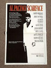Scarface Original Movie Poster Al Pacino 1983