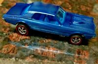 HOT WHEELS VINTAGE REDLINE 1967 CUSTOM COUGAR (RESTORED) HONG KONG