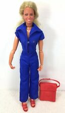Vintage 1976 The Bionic Woman Kenner w shoes Purse Blue Dress Read Description