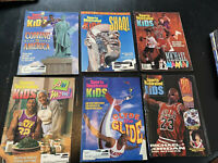 Sports Illustrated For Kids - NBA Covers - Jordan - 90's Vintage - NO CARDS/Post