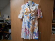 Tommy Hilfiger Floral Cotton Short Sleeve High Waist Shirt Style Dress - UK8-10