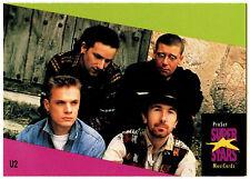 U2 #143 ProSet Super Stars MusiCards 1991 Trade Card (C376)