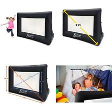 Movie Screen Mini Portable Indoor Outdoor Projector Screen Package Rope, Blower