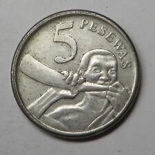 Ghana 5 Pesewas 2007 Nickel Clad Steel KM#38