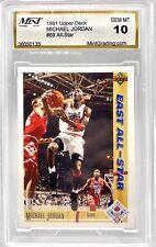 1991-92 Upper Deck #69 Michael Jordan All Star 10 GEM MINT