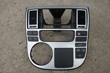 VW T5 GP Multivan Mittelkonsole Radioblende Navi Lüftungsdüsen Silber Highline