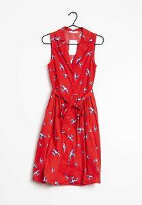 Mango Kleid Rot Gr.S