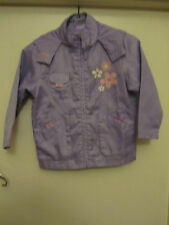Purple Rain Coat / Jacket / Anorak with Hood by Ladybird - 4 - 5 years - unused