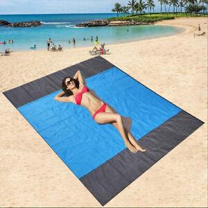 Beach Blanket Waterproof Beach Mat Sand Proof Beach Blanket Picnic Mat 200*210cm