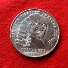 MONNAIE DE 100F DESCARTES 1991 EN ARGENT ANCIENNE DE COLLECTION