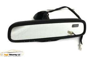 06-09 LEXUS GS300 GS350 GS430 AUTO DIM  REAR VIEW MIRROR COMPASS HOMELINK CLEAR