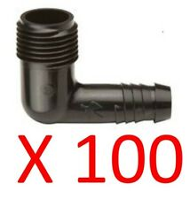 100 Funny Pipe Elbows 1/2 Inch RainBird Swing Joint Sprinkler SBE-050 Fitting